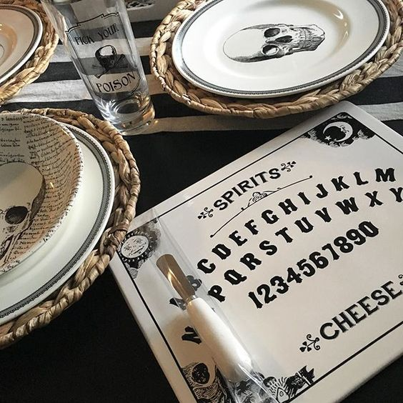 Finally found a ouija cheese board! 2 years I have searched every damn…