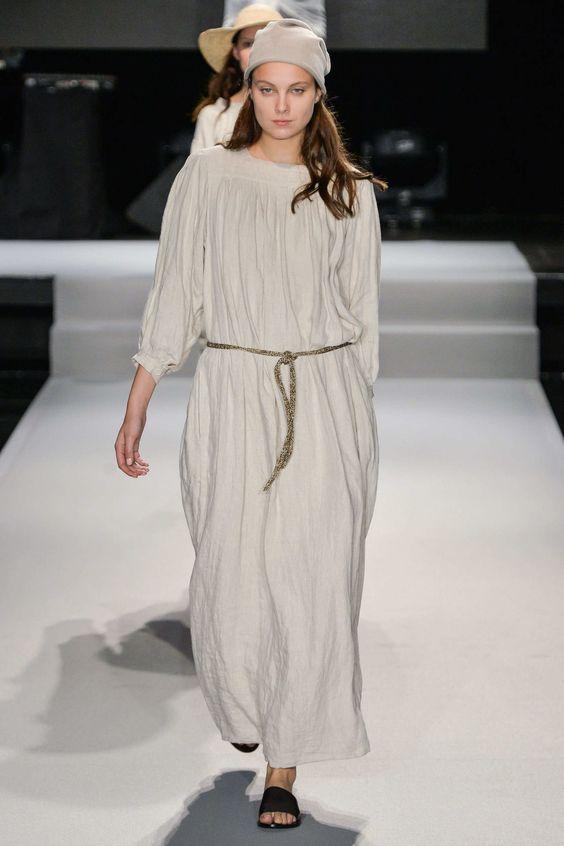 #AgnesB #2015 #Fashion #Show #ss2015 #pfw #Paris #Fashionweek via @TheCut