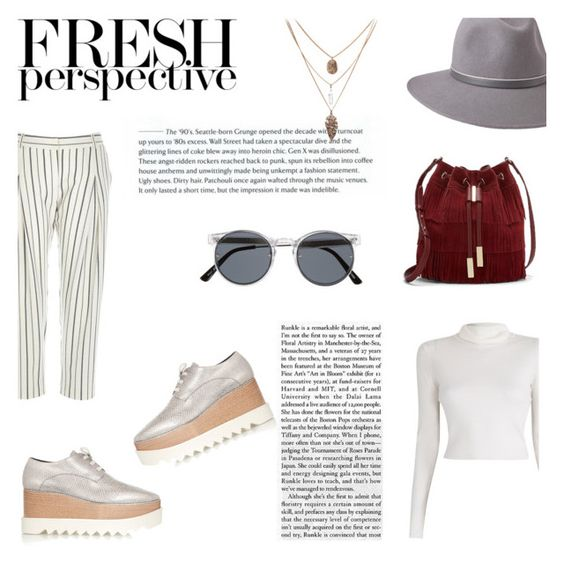 """""""I'm addicted to her"""" by zaynsoverdose ❤ liked on Polyvore featuring STELLA McCARTNEY, River Island, A.L.C., Vince Camuto, Spitfire and Penmayne of London"""