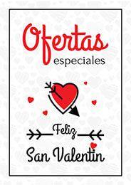 San Valentin Cartel De Ofertas Sanvalentin Diadelosenamorados Cartelesdedescuentos Imagenes De Ofertas San Valentín Carteles Rebajas