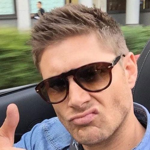 Jensen Ackles Hair Spiky Jensen Ackles Haircut Dean Winchester Hair Jensen Ackles Hair