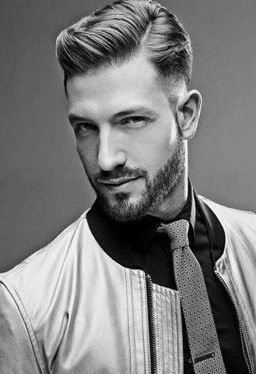 40 Hairstyles For Men In Their 40s Hairstyle On Point Balding Mens Hairstyles Haircuts For Men Mens Hairstyles