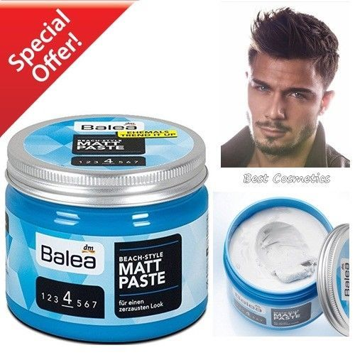 Pin On New Balea Beach Style Matt Paste Men Hair Styling 150 Ml