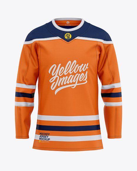 Ice Hockey Jersey Mockup Free Clothing Mockup Hockey Jersey Mockup