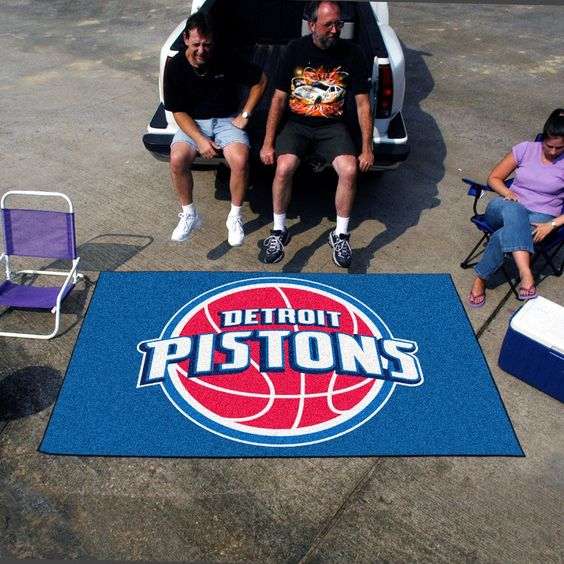 Fanmats, NBA Detroit Pistons Mats