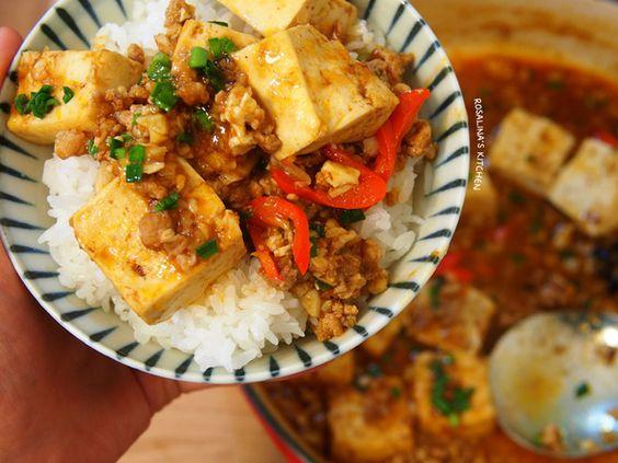 含淚的麻婆豆腐食譜、作法 | 蘿潔塔的多多開伙食譜分享