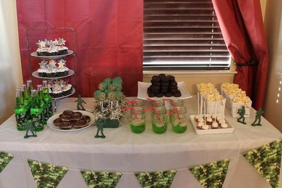 Hostess with the Mostess® - Army Camo Birthday Party