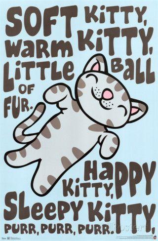 The Big Bang Theory - Soft Kitty Print - AllPosters.ca