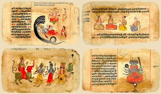 Resultado de imagen de de dioses y libros india