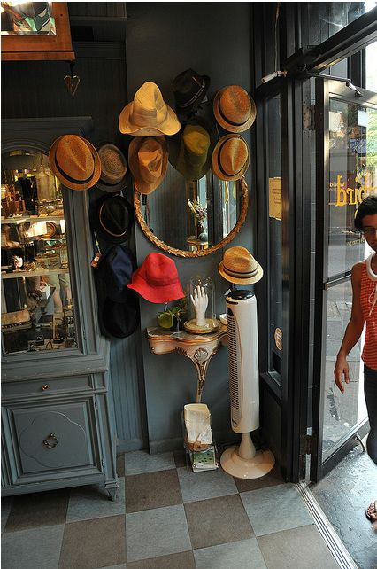 hats.  Brooklyn scouting trip.