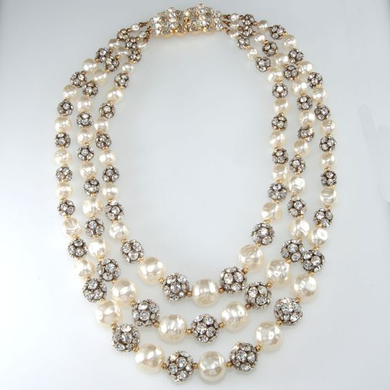 pearl necklace designs 15