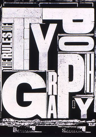 Alan Kitching.: Graphic Design, Typography Alan, Typography Design, Design Typography, The Rules