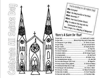 All saints day coloring pages with ideas for intercessors for All saints day coloring pages