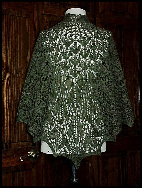 Vermont shawl quot knit lace shawl in wool fingering weight yarn pattern