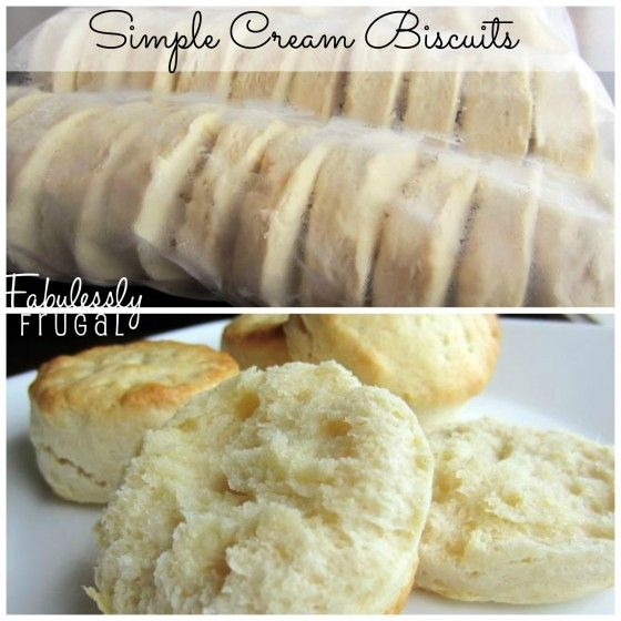 Easy homemade frozen biscuits. Just pop some in the oven whenever you want fresh, homemade biscuits!
