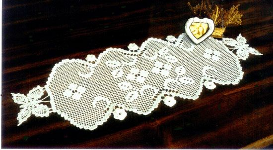 Free Crochet Patterns For Dresser Scarves : Crochet Spring Garden Dresser Scarf Pattern Does anyone ...