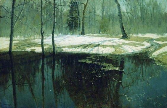 Spring Water, Stanislav Zhukovsky