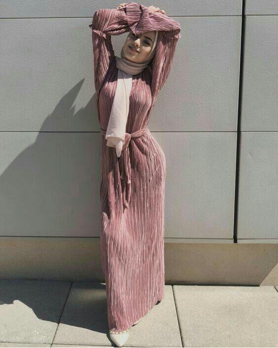 Genc Tesettur Uzun Elbise Modelleri Tesettur Elbise Modelleri 2020 Muslim Fashion Dress Muslimah Fashion Outfits Muslim Outfits