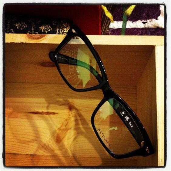 Masunaga la plus ancienne marque japonaise disponible au Eye Showroom - 10 rue du mont dore 75017 Paris !