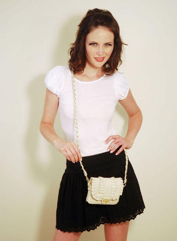 Bolsa Lucy - off-white
