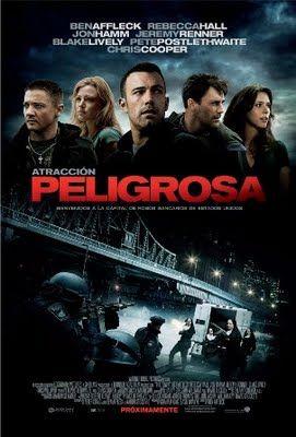 Atraccion Peligrosa Dvdrip Latino The Town Movie Movie Posters Good Movies