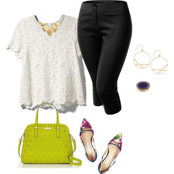 """""""plus size casual summer office look"""" by kristie-payne on Polyvore"""