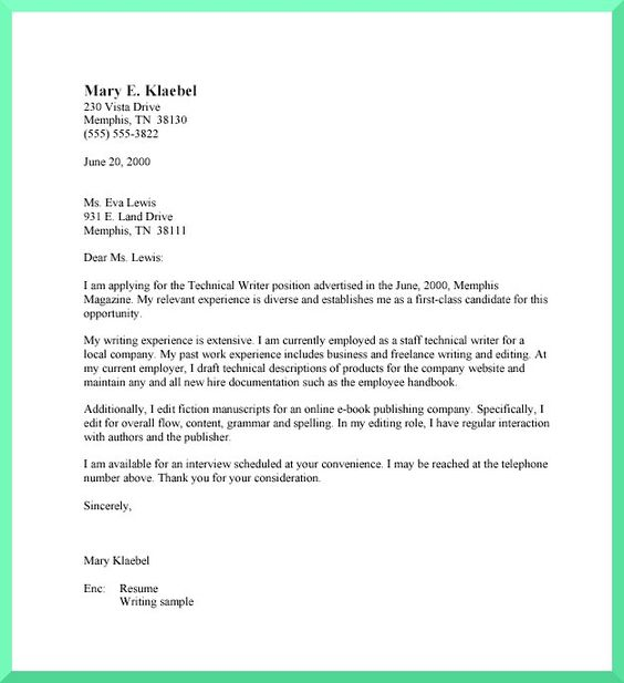 cover letter format Basic Cover Letter Format Business Process - cover letter draft