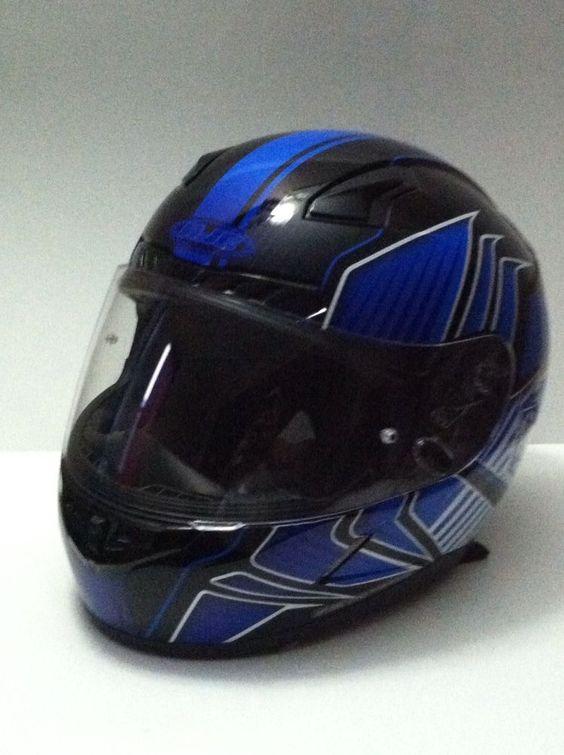HJC Redline CL-17  Motorcycle Helmet XL #HJC