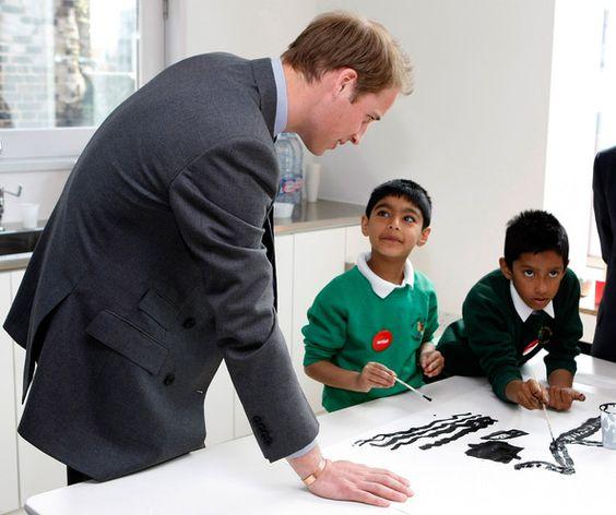 Prince William Photos - Prince William Visits Charter Standard Programme At Kinghurst Sporting FC - Zimbio