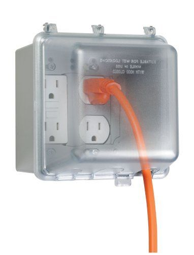 22 55 Taymac Mm7440gy B Weatherproof Double Outlet Cover