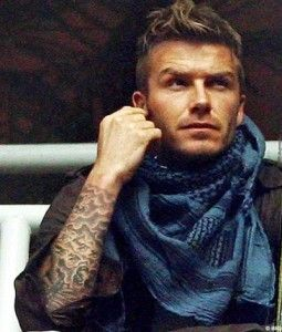 inked and cool scarf!: Tattoo Ideas, Eye Candy, David Beckham Tattoos, David Beckam, Hot Guy, Mensfashion, Beautiful People, Davidbeckham, Eyecandy