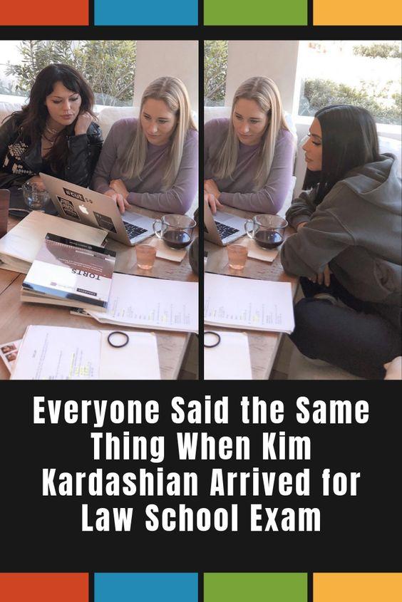 Everyone Said The Same Thing When Kim Kardashian Arrived For Law