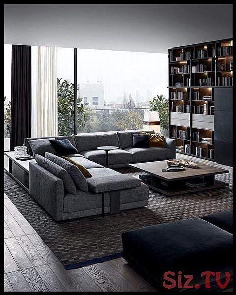 Moderne Wohnzimmer Dekoration Ideen Farbe M Bel Und Leuchten