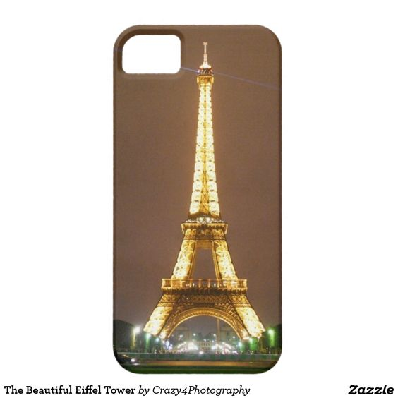 The Beautiful Eiffel Tower iPhone 5 Covers
