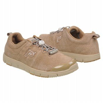 Propet Travel Walker Suede Shoes (Denim Taupe) - Women's Shoes - 10.0 M