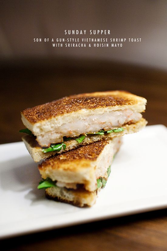 ... Sriracha Hoisin Mayo | food | Pinterest | Shrimp Toast, Toast and