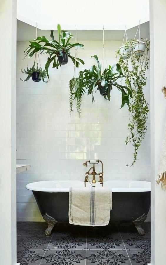 How To Style And Organize Small Bathrooms The Mood Palette Bathroom Plants Decor Bathroom Inspiration Decor Bathroom Plants