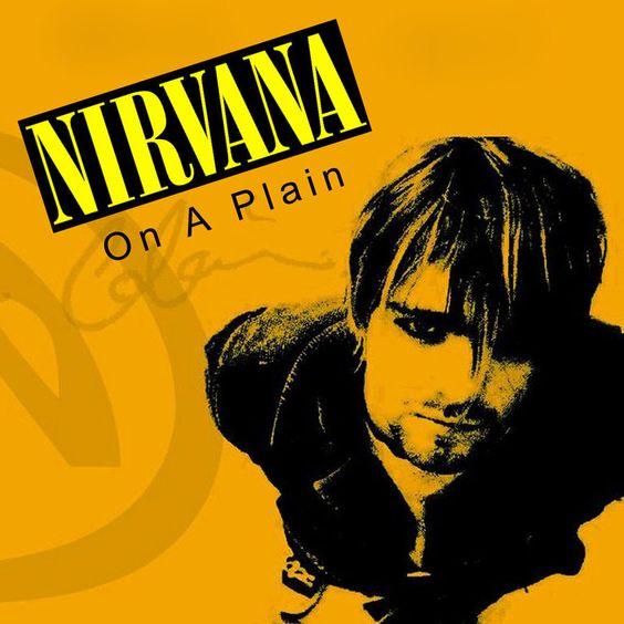 Nirvana – On a Plain (single cover art)