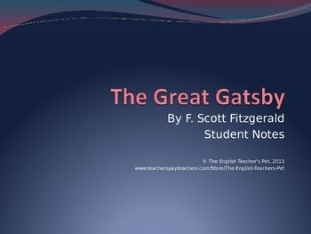 "an analysis of the central theme in the great gatsby by f scott fitzgerald ""the great gatsby"" by f scott fitzgerald  of ""the great gatsby"", that, ""following a central theme of  nick carraway – character analysis of the."