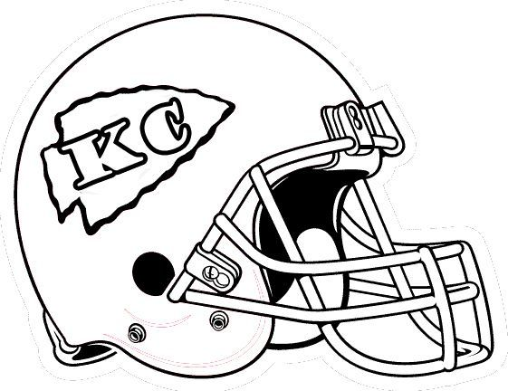Football Helmet Coloring Pages Football Coloring Pages Kansas