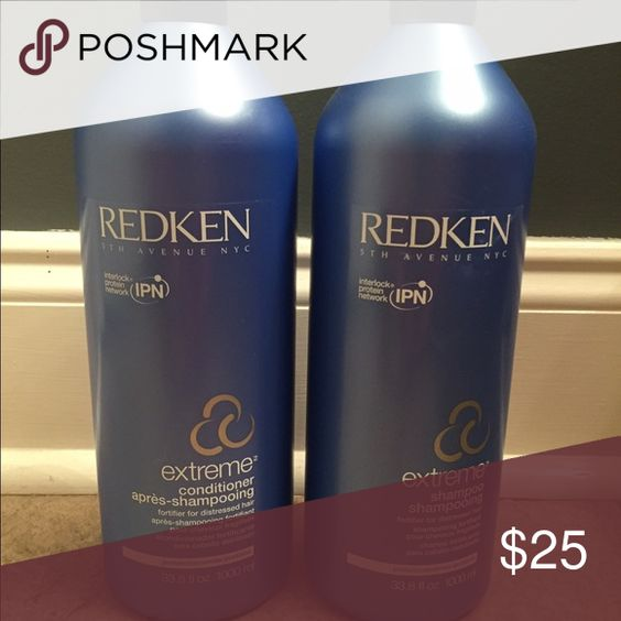 Redken Shampoo and Conditioner extreme, for distressed and damaged hair. Full bottles NEVER used. redken  Other