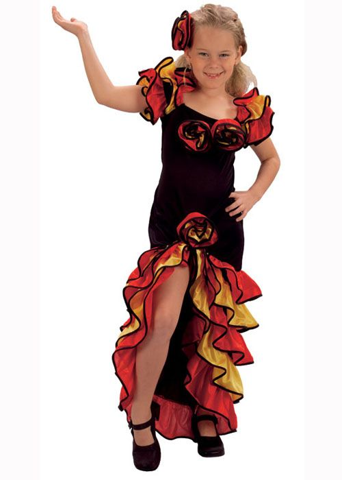 Flamenco Dresses From Spain Around The World Spain Kids