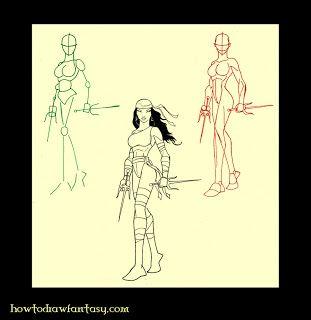 artzinefantastique.com: Comment dessiner Elektra