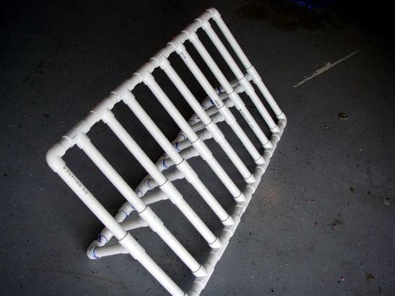 how to make rod holders out of pvc