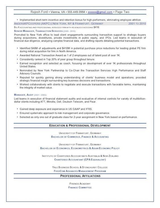 Credit Analyst Resume Sample ↔ - resume mission statement