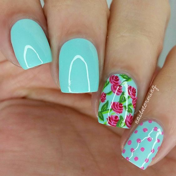"""Vintage floral mix 