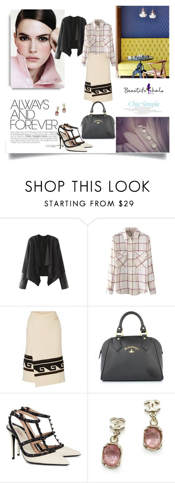 """www.beautifulhalo.com"" by nahed-samer ❤ liked on Polyvore featuring Isabel Marant, Vivienne Westwood, Valentino, Chanel and beautifulhalo"
