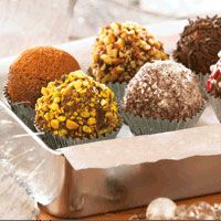 Holiday Chocolate Truffles