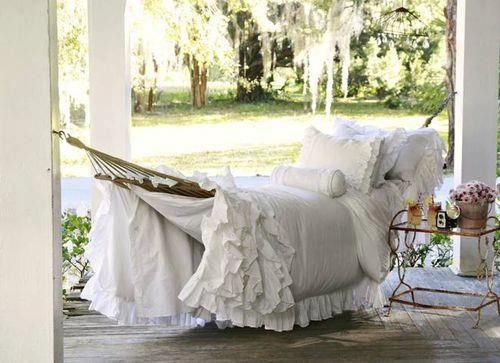 A must have in every garden! Love the bedding too