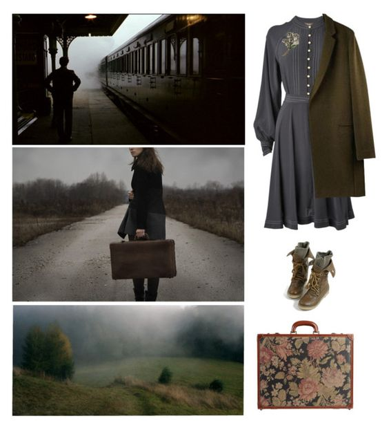 """""""Outlander"""" by zuevich ❤ liked on Polyvore featuring Phase Eight, Sweet Romance, I Santi, women's clothing, women, female, woman, misses and juniors"""